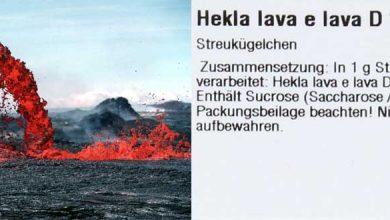 Dosierung für Hekla Lava D12