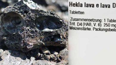 Indikationen des Homöopathikums Hekla lava D4