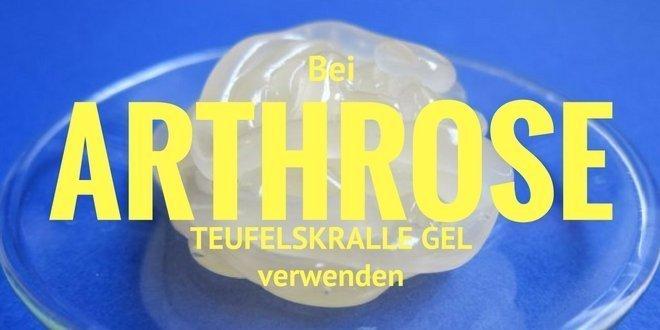 Teufelskralle Gel wird eingesetzt bei Arthrose, Rheuma und Gicht.