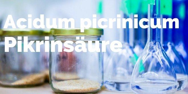 Acidum picrinicum Globuli - Pikrinsäure in der Homöopathie