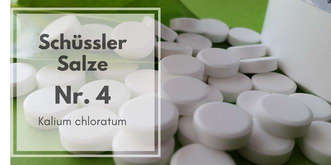 Schüssler Salze Nr. 4 - Kalium chloratum