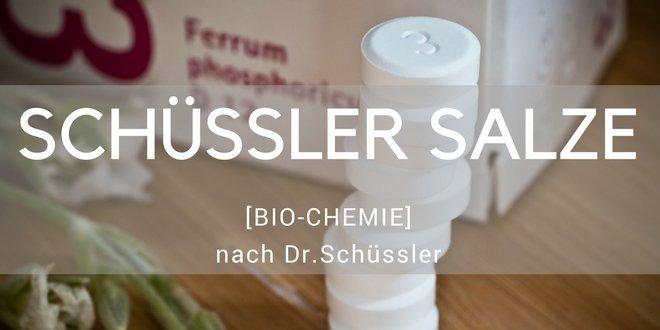 Schüssler Salze sind alternativmedizinische Präparate von Mineralsalzen in homöopathischer Dosierung
